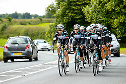 The Omega Pharma Quick Step Cycling Team, including Stage 1 favourite Mark Cavendish, take a training ride on the run into Harrogate - Photo mandatory by-line: Rogan Thomson/JMP - 07966 386802 - 04/07/2014 - SPORT - CYCLING - Harrogate, Yorkshire - Le Tour de France Grand Depart Previews.