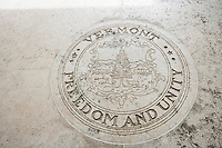 Seal of Vermont in Fort Bonifacio; Manila; Philippines