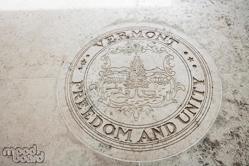 Seal of Vermont in Fort Bonifacio; Manila; Philippines