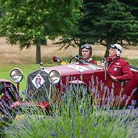 Federico Goettsche Bebert & Michael Goettsche Bebert in their  Alfa Romeo MM Supercharged on the Royal Automobile Club 1000 Mile Trial 2015