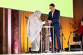 Koninklijke Familie bij uitreiking Prins Claus Prijs 2019