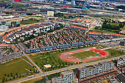 Nederland, Utrecht, Leidsche Rijn, 03-05-2011; Prinses Amaliapark.Nieuwbouwwoningen van de vinexclocatie Leidsche Rijn met de wijk  Parkwijk. The residential area Leidsche Rijn with the district Parkwijk. . .luchtfoto (toeslag), aerial photo (additional fee required).copyright foto/photo Siebe Swart