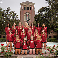 USC Women's Volleyball Group Photos