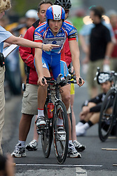 Alex Hagman (AEG) during stage 1 of the Tour of Virginia.  The Tour of Virginia began with a 4.7 mile individual time trial near Natural Bridge, VA on April 24, 2007. Formerly known as the Tour of Shenandoah, the ToV has gained National Race Calendar (NRC) status for the first time in its five year history.