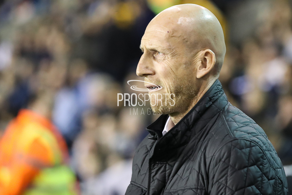 Jaap Stam (manager) of Reading before the EFL Sky Bet Championship match between Millwall and Reading at The Den, London, England on 26 September 2017. Photo by Toyin Oshodi.