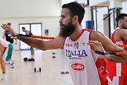 Luigi Datome<br /> Raduno Nazionale Maschile Senior<br /> Allenamento <br /> Roma, 16/08/2017<br /> Foto GiulioCiamillo / Ciamillo-Castoria