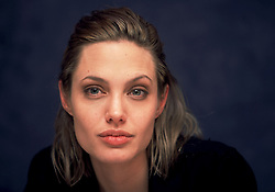 2000 - Hollywood, California, U.S. - ANGELINA JOLIE, 24, actress plays Lisa in Girl, Interrupted. Jolie, won Best Actress in a Supporting Role 2000 Oscar for her performance, and based on a real woman from Susanna Kaysen's memoir, Lisa Rowe is perhaps the most striking character in the film Girl, Interrupted. Young, beautiful and oozing with seductive charisma, Lisa is a sociopath and a patient at Claymore hospital where she has resided for the past 7 years. Lisa is proud of her diagnoses, mocks her doctors and refuses to take her medication. (Credit Image: © Armando Gallo via ZUMA Studio)