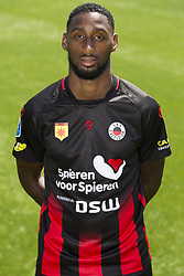 Jeffry Fortes during the team presentation of Excelsior Rotterdam on July 13, 2018 at the Van Donge & De Roo stadium in Rotterdam, The Netherlands