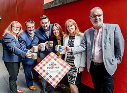 Labour MSP Kezia Dugdale took part in 'The Great Get Together' in memory of murdered MP Jo Cox, joined by fellow MSP's Myles Briggs (Conservatives), Ash Denham (SNP) and Deirdre Brock (SNP) as well as MP Tommy Shepherd (SNP) and councillor Gavin Barrie (Edinburgh City Council, independent) at the Serenity Cafe in Edinburgh.<br /> <br /> &copy; Dave Johnston/ EEm