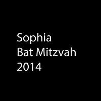 Sophia Bat Mitzvah