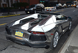 "Lamborghini  outside the ""Room To Grow"" Spring Benefit on  April 5,2017 at Guastavino's in New York, New York, USA. *** Please Use Credit from Credit Field ***"