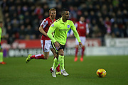 Brighton central midfielder, Beram Kayal (7) during the Sky Bet Championship match between Rotherham United and Brighton and Hove Albion at the New York Stadium, Rotherham, England on 12 January 2016.