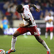 Thierry Henry, New York Red Bulls, in action during the New York Red Bulls Vs Portland Timbers, Major League Soccer regular season match at Red Bull Arena, Harrison, New Jersey. USA. 24th May 2014. Photo Tim Clayton