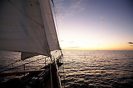 yacht/ schooner sailing around Magnetic Island Australia