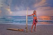 Rachel Weliever, surfer and adventurer, St. Petersburg, Florida.
