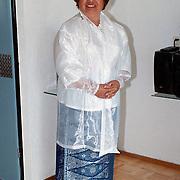 Thea Kikkert Vlie 10 Huizen in de Indonesische klederdracht