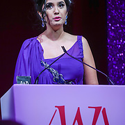 London, UK. 10th May 2017. The Media award to Shay Grewal at The Asian Women of Achievement Awards 2017 at the London Hilton on Park Lane Hotel. Photo by See li Credit: See Li