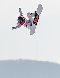 19.02.2018, Alpensia Ski Jumping Centre, Pyeongchang, KOR, PyeongChang 2018, Snowboard, Damen, Big Air, im Bild Jessika Jenson (USA) // Jessika Jenson of the USA during the Ladies Snowboard Big Air of the Pyeongchang 2018 Winter Olympic Games at the Alpensia Ski Jumping Centre in Pyeongchang, South Korea on 2018/02/19. EXPA Pictures © 2018, PhotoCredit: EXPA/ Johann Groder