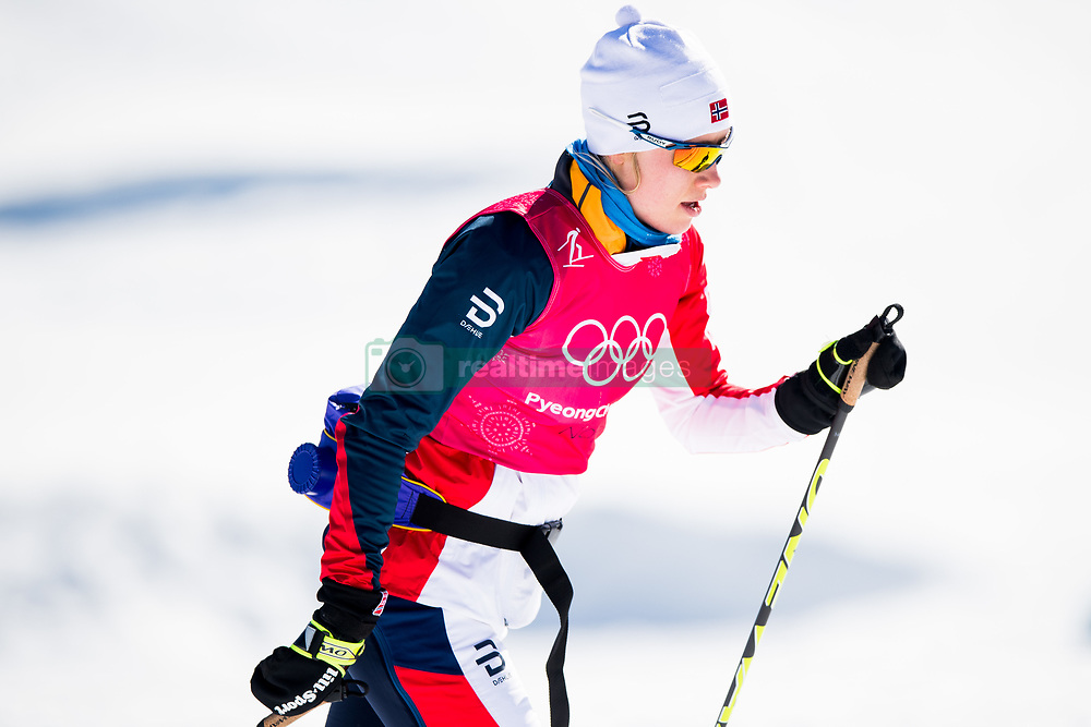 February 5, 2018 - Pyeongchang, SOUTH KOREA - 180205 Ragnhild Haga of Norway during a training session on February 5, 2018 in Pyeongchang..Photo: Jon Olav Nesvold / BILDBYRN / kod JE / 160136 (Credit Image: © Jon Olav Nesvold/Bildbyran via ZUMA Press)