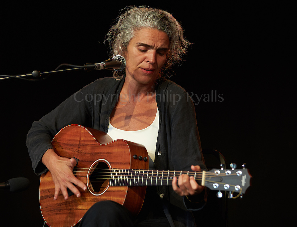 MALMESBURY, UK - JULY 30: Lula Pena performs on stage at Womad on July 30th, 2016 in Wiltshire, United Kingdom. (Photo by Philip Ryalls)**Lula Pena