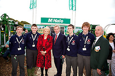 Taoiseach Enda Kenny students from