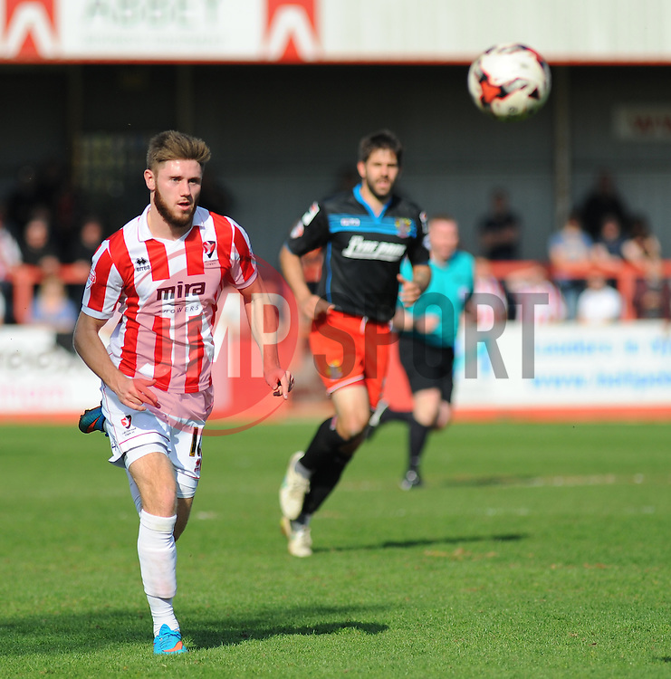 Cheltenham Town's Wes Burns. - Photo mandatory by-line: Nizaam Jones - Mobile: 07966 386802 - 06/04/2015 - SPORT - Football - Cheltenham - Whaddon Road - Cheltenham Town v Stevenage - Sky Bet League Two