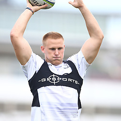 DURBAN, SOUTH AFRICA, 10,MARCH, 2016 - Daniel Du Preez during the Cell C Sharks training session and press conference at Growthpoint Kings Park on March 10, 2016 in Durban, South Africa. (Photo by Steve Haag)<br /> <br /> images for social media must have consent from Steve Haag