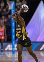 South Africa's Bongiwe Msomi looks to pass the ball against England in the Netball Quad Series netball match, ILT Stadium Southland, Invercargill, New Zealand, Sept. 3 2017.  Credit:SNPA / Adam Binns ** NO ARCHIVING**