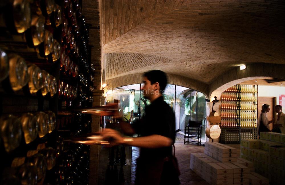 Bernard Teilland, homme d'affaire et amateur d'art, acceuille chaque année une exposition sur ses terres.  Sainte Roseline propose plusieurs gammes de vins dont Prieure, élevée en barrique est la plus reputée, Chateau Sainte Roseline, Les Arcs-sur-Argens, France