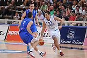 DESCRIZIONE : Trento Primo Trentino Basket Cup Italia Bosnia Erzegovi<br /> GIOCATORE : Pietro Aradori<br /> CATEGORIA : palleggio penetrazione<br /> SQUADRA : Nazionale Italia Maschile<br /> EVENTO :  Trento Primo Trentino Basket Cup<br /> GARA : Italia Bosnia Erzegovi<br /> DATA : 26/07/2012<br /> SPORT : Pallacanestro<br /> AUTORE : Agenzia Ciamillo-Castoria/C.De Massis<br /> Galleria : FIP Nazionali 2012<br /> Fotonotizia : Trento Primo Trentino Basket Cup Italia Bosnia Erzegovi<br /> Predefinita :