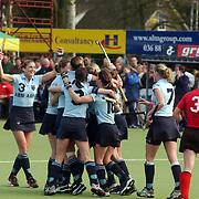 Europa Cup bekerwinnaars finale, Laren - Canterbury, ANouk Jonckers (L)