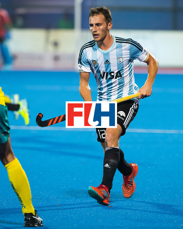 BHUBANESWAR - Lucas Vila (Arg).  Hockey World League finals , Final Australia-Argentina (2-1) . Australia wint de finale. COPYRIGHT KOEN SUYK