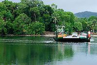 The Daintree River ferry is the only way into the World Heritage listed Daintree National Park.