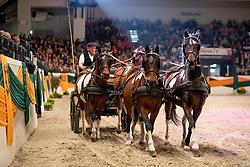 Ganschower Gespann Show<br /> Neumünster - Trakehner Hengstmarkt 2018<br /> Großer Trakehner Galaabend<br /> 20. Oktober 2018<br /> © www.sportfotos-lafrentz.de/Stefan Lafrentz