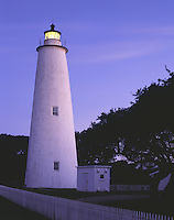 AA03276-02...NORTH CAROLINA - Ocracoke Lighthouse on Ocracoke Island in the Outer Banks.