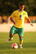 Ritchie Brindley of Norwich City during a pre season friendly at New Lodge Stadium, Billericay...Picture by Paul Chesterton/Focus Images Ltd.  07904 640267.4/8/11