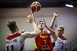 Pajovic  Fedja of Montenegro during basketball match between National teams of Germany and Montenegro in the 11th place Classifications of FIBA U18 European Championship 2019, on August 4, 2019 in Portaria Hall, Volos, Greece. Photo by Vid Ponikvar / Sportida