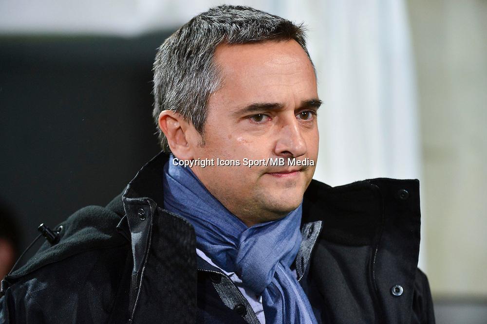 Jean Luc VANNUCHI   - 19.12.2014 - Auxerre / Niort - 18e journee Ligue 2<br /> Photo : Dave Winter / Icon Sport