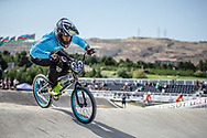 Men Elite #382 (DIAZ SERNA Juan Carlos) COL the 2018 UCI BMX World Championships in Baku, Azerbaijan.