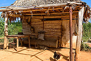 Farm shed near Pons, Pinar del Rio, Cuba.