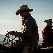 Buck and Hunter, CM Ranch, Wyoming