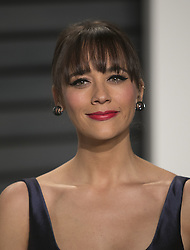 February 26, 2017 - Beverly Hills, California, U.S - Rashida Jones on the red carpet at the 2017 Vanity Fair Oscar Party held at the Wallis Annenberg Center in Beverly Hills, California, Sunday February 26, 2017. (Credit Image: © Prensa Internacional via ZUMA Wire)