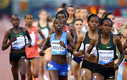 May 31, 2018 - Rome, Italy - Norah Jeruto (KEN) competes in 3000m Steeplechase women during Golden Gala Iaaf Diamond League Rome 2018 at Olimpico Stadium in Rome, Italy on May 31, 2018. (Credit Image: © Matteo Ciambelli/NurPhoto via ZUMA Press)
