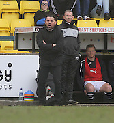 Dundee manager Paul Hartley - Livingston v Dundee - SPFL Championship at Almondvale <br />  - &copy; David Young - www.davidyoungphoto.co.uk - email: davidyoungphoto@gmail.com
