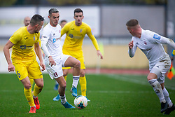 David Tijanic of Triglav and Tilen Klemencic of Domzale during football match between NK Domzale and NK Triglav in Round #18 of Prva liga Telekom Slovenije 2019/20, on November 23, 2019 in Sports park Domzale, Slovenia. Photo by Sinisa Kanizaj / Sportida