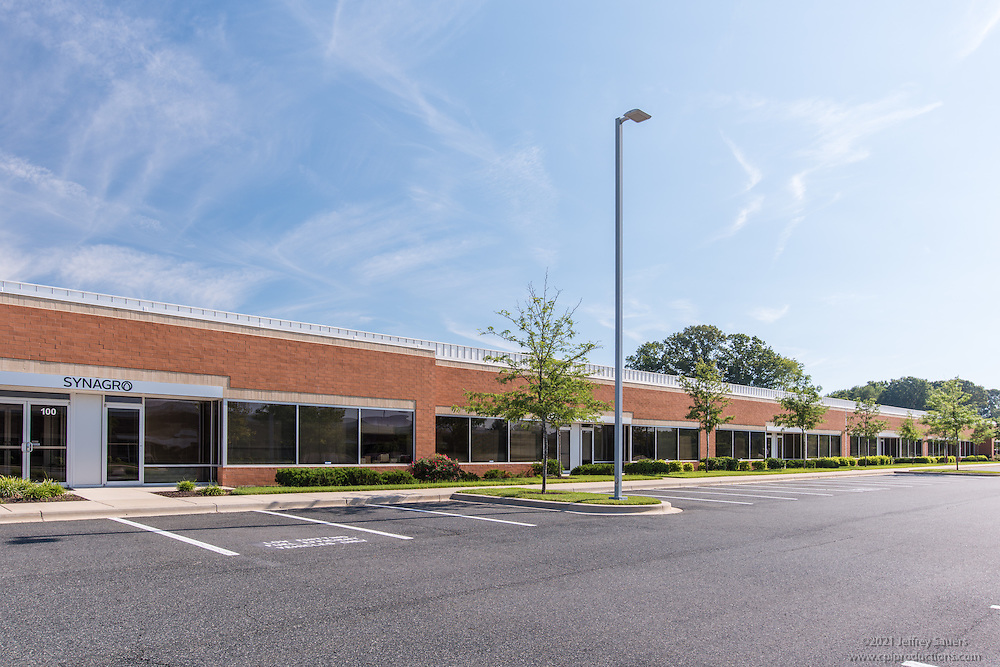 Exterior image of Baltimore Crossroads at 95 Office Park in White Marsh Maryland by Jeffrey Sauers of Commercial Photographics, Architectural Photo Artistry in Washington DC, Virginia to Florida and PA to New England