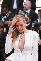 Petra Nemcova at the gala screening for the film Youth at the 68th Cannes Film Festival, Wednesday May 20th 2015, Cannes, France.