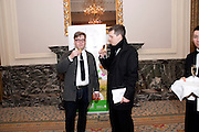 THOMAS ALFREDSON; MARK JONES, The 30th London Critics' Circle Film Awards, held in aid of the NPSCC at the Landmark London Hotel. 18 February 2010.<br /> THOMAS ALFREDSON; MARK JONES, The 30th London CriticsÕ Circle Film Awards, held in aid of the NPSCC at the Landmark London Hotel. 18 February 2010.