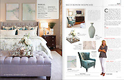 Interior design photography of Casy Roark Designs for a magazine feature in Rogers, Arkansas.