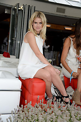 ALICE EVE at the Audi International Polo at Guards Polo Windsor Great Park, Egham, Surrey on 28th July 2013.